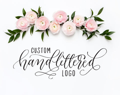Custom Handlettered Logo