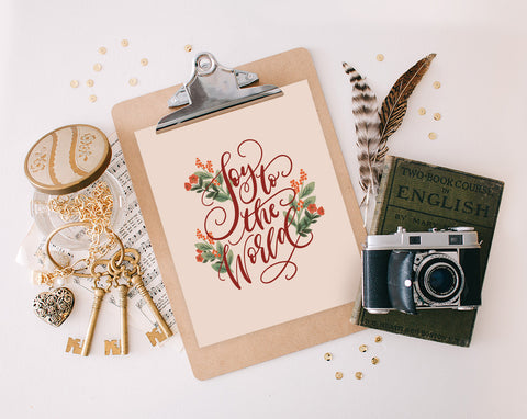 Joy to the World, Printable