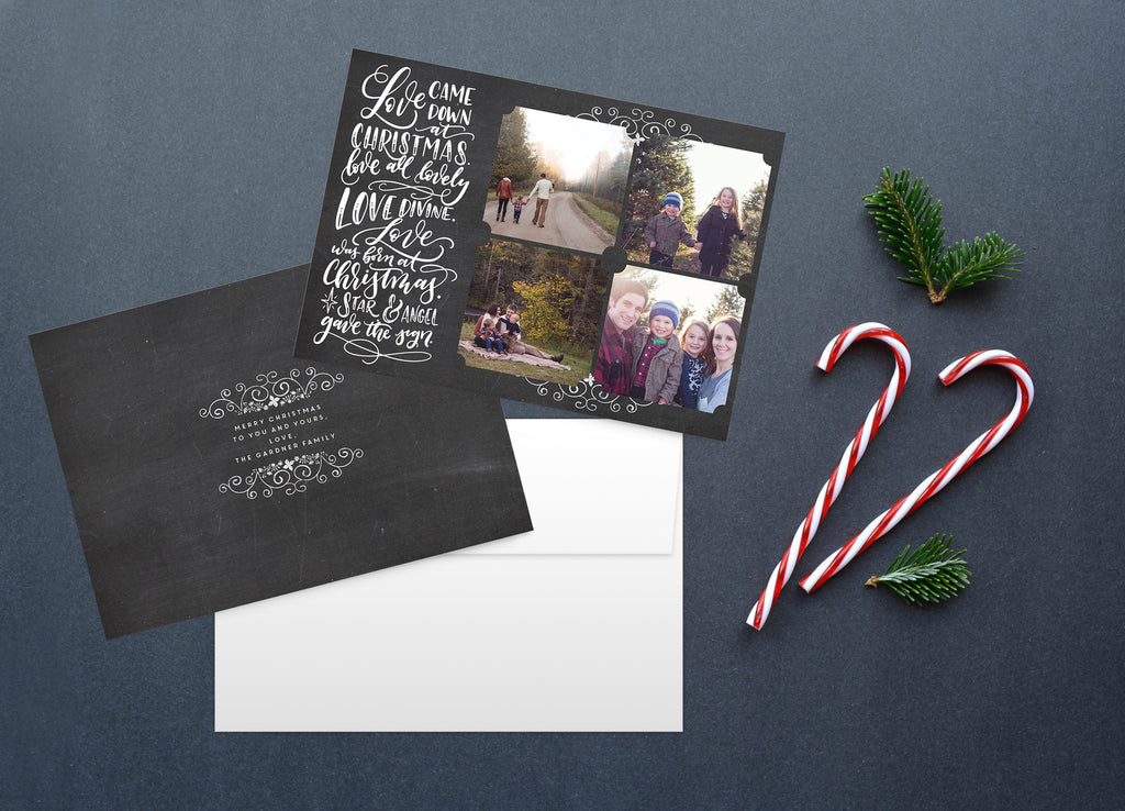 Love Came Down, Christmas Card Set