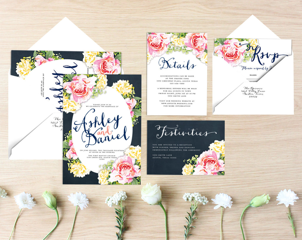 Scarlett Printable Wedding Suite
