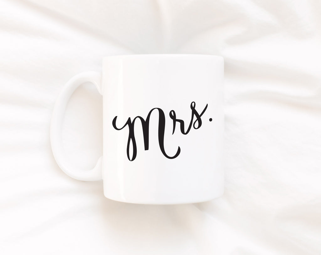 """Mrs."" 11 oz Coffee Mug"