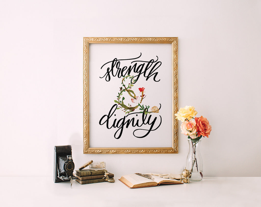 Strength & Dignity, Ampersand