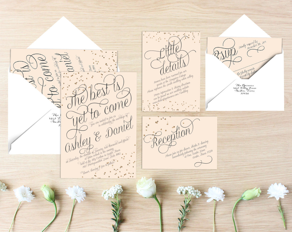 Katie Printable Wedding Suite