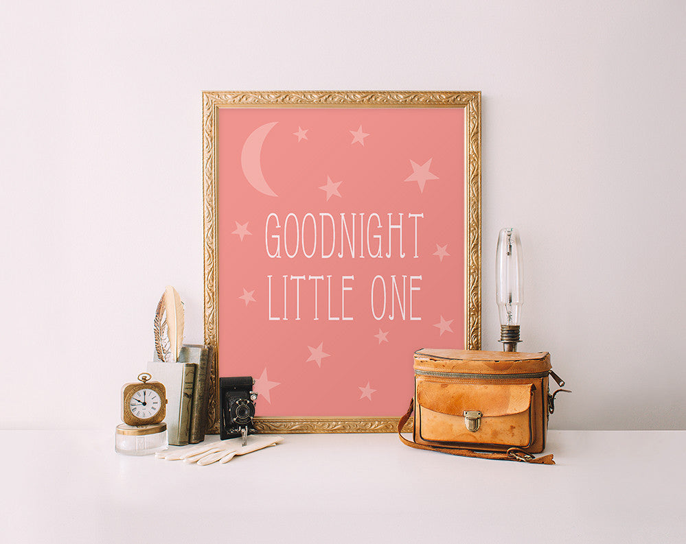 Goodnight Little One, Pink