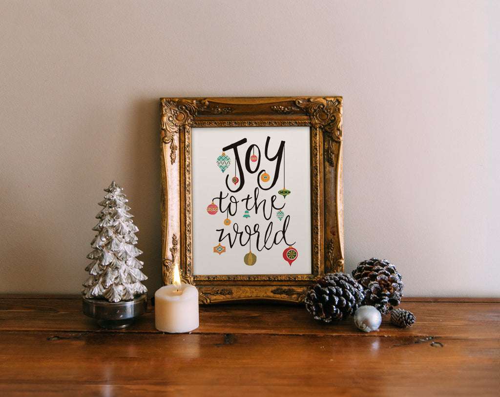 Joy to the World, Ornaments