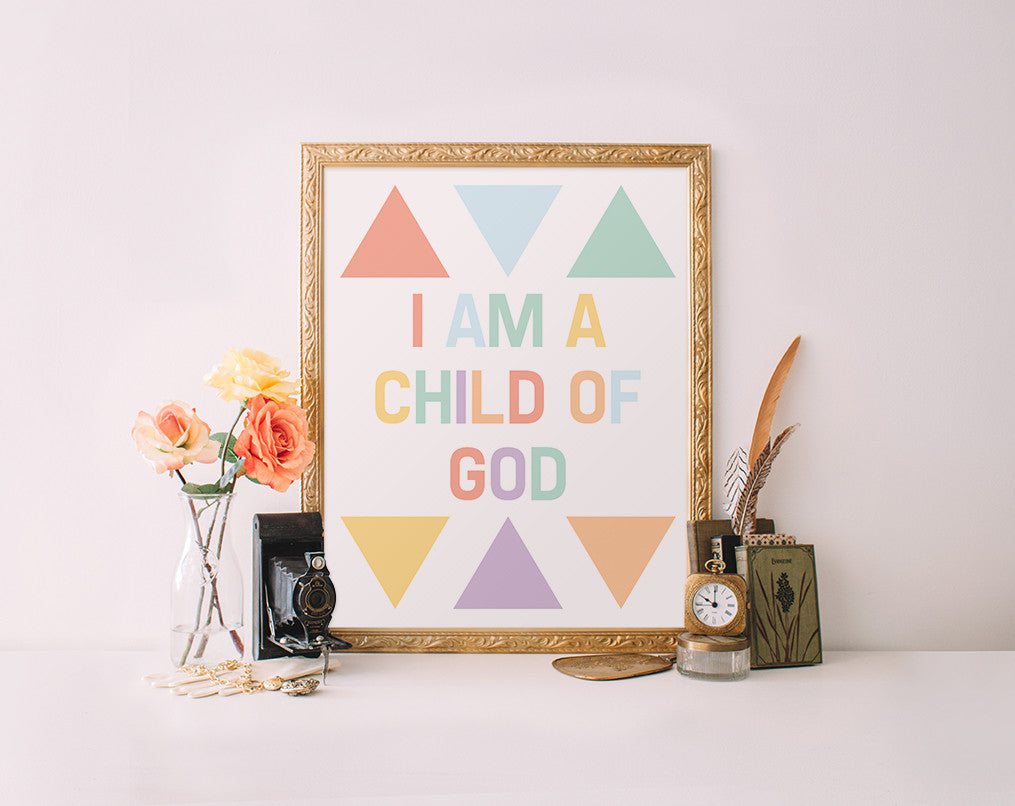 I am a child of God, Multicolored