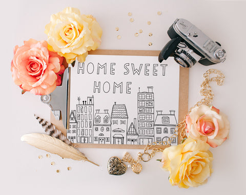 Home Sweet Home, Printable