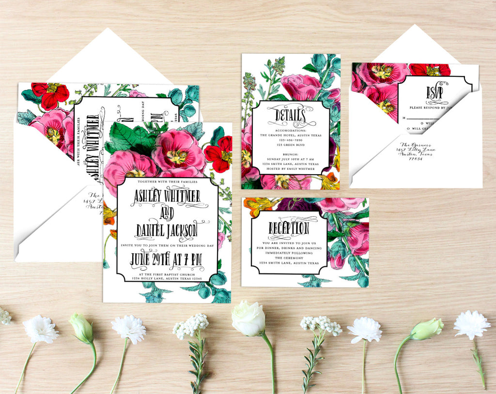 Georgia Printable Wedding Suite