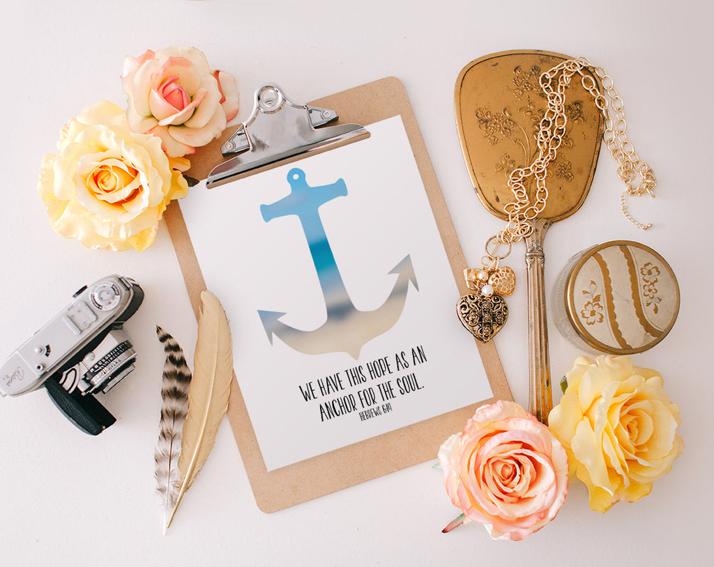 Hebrews 6:19, Anchor, Printable