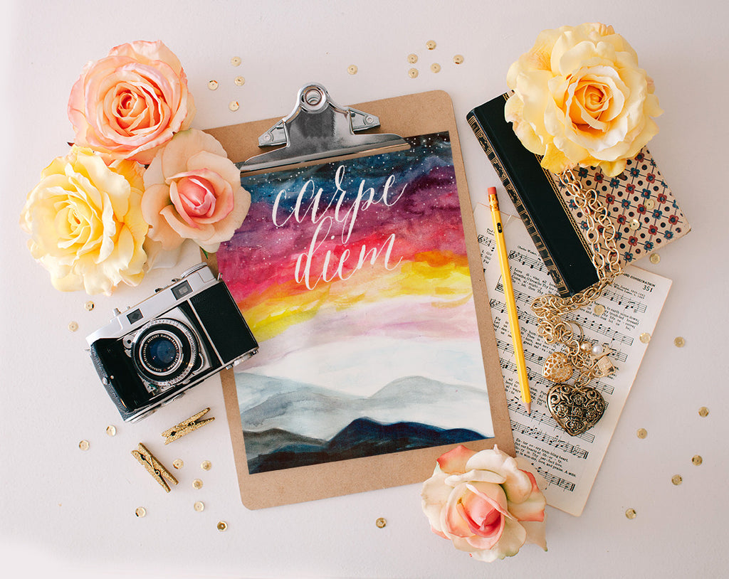 Carpe Diem, Printable