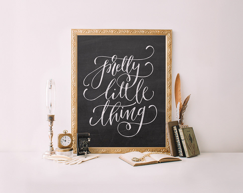 Pretty Little Thing, Chalkboard