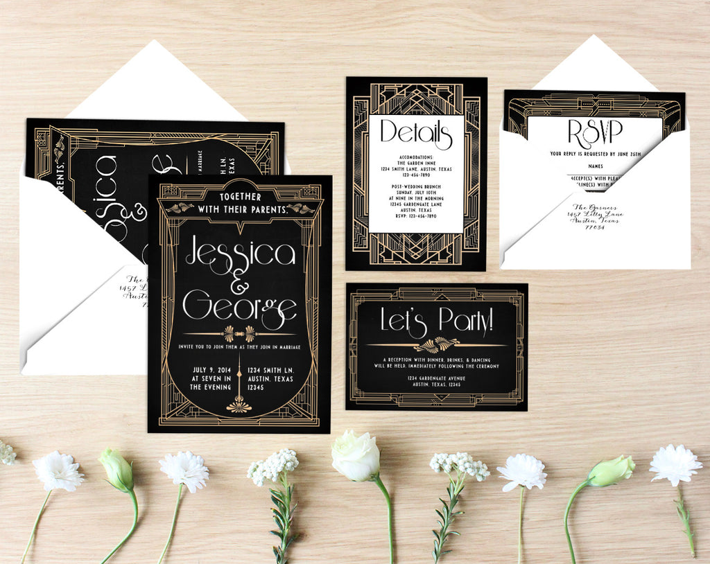 Lillian Printable Wedding Suite