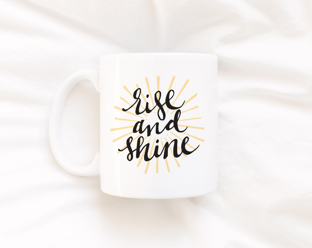Rise and Shine, Full Color Mug