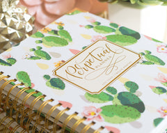The Perpetual Planner - Cactus Chic