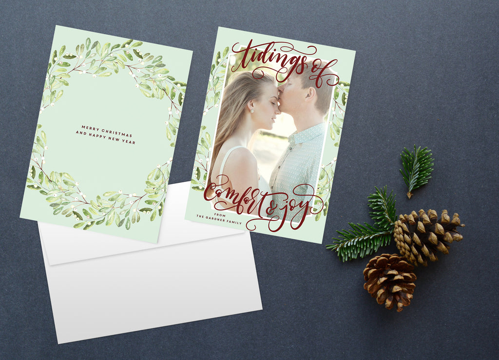 Comfort & Joy, Christmas Card Set