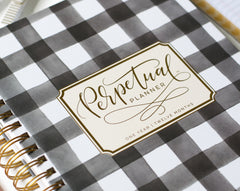The Perpetual Planner - Buffalo Check