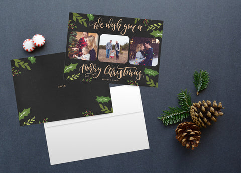 We Wish, Christmas Card Set