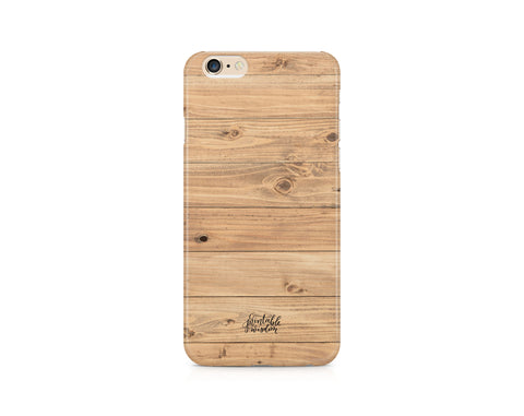 Wood Grain Phone Case, Slim Fit
