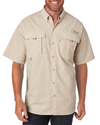 Columbia Men's Bahama II Short-Sleeve Shirt - Fossil