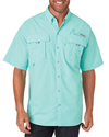 Columbia Men's Bahama II Short-Sleeve Shirt - Gulf Stream