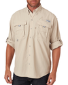 Columbia Men's Bahama II Long-Sleeve Shirt Shirt - Fossil
