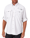 Columbia Men's Bahama II Long-Sleeve Shirt Shirt - White