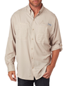 Columbia Men's Tamiami II Long-Sleeve Shirt - Fossil
