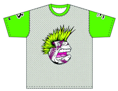 Xtreme Dye Sub Performance Shirt - Lime