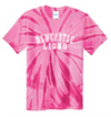 Tie Dye Short Sleeve T-Shirt Youth - Pink