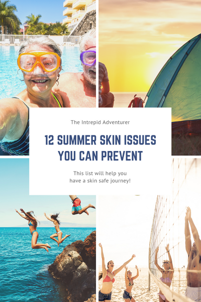 12 Summer Skin Issues You Can Prevent