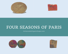 Load image into Gallery viewer, Four Seasons of Paris Soaps