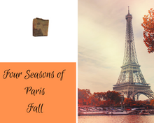 Load image into Gallery viewer, Four Seasons of Paris Soaps Fall