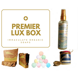 The Premier Lux Box - Immaculate Organic Soaps