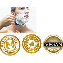 Men's Shave Soap Vegan - Immaculate Organic Soaps - 1