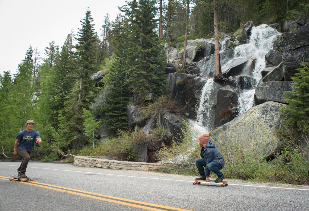Skating Waterfall Yosemite