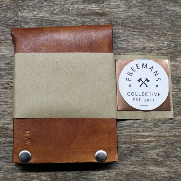 American Crafted Leather Bi-Fold Wallet