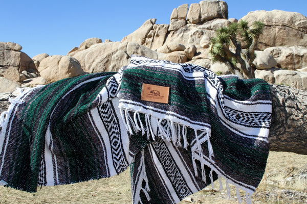 Big Sur Blanket Pacific Pine Green