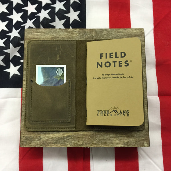 Field Notes Leather Journal Gift Set