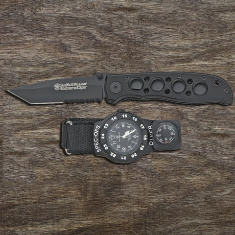 Smith & Wesson Package Knife/Watch