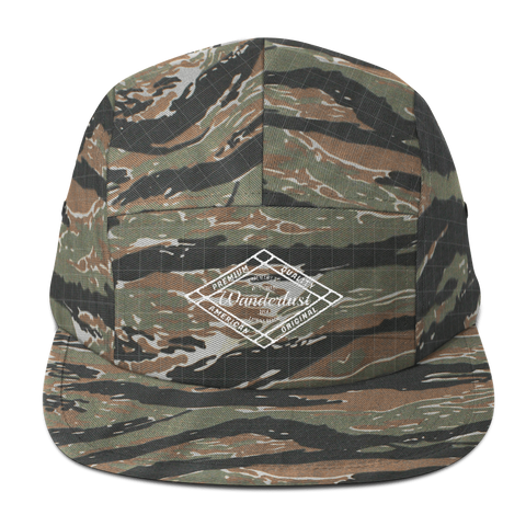 Wanderlust Camo Five Panel Hat