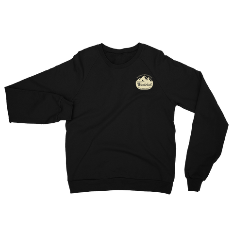 Wanderlust - California Fleece - Raglan Sweatshirt
