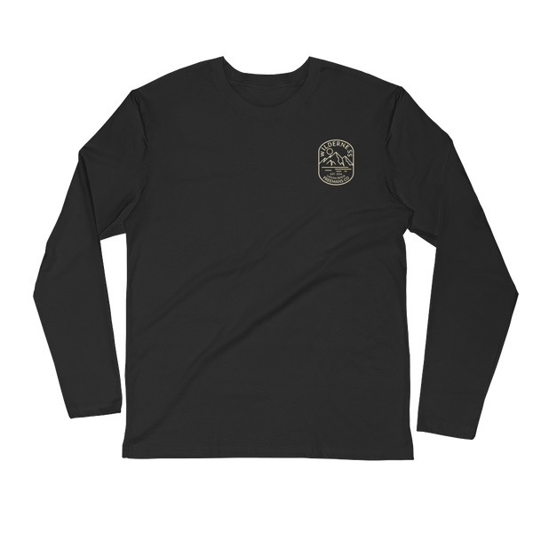 Wilderness Long Sleeve Fitted Crew