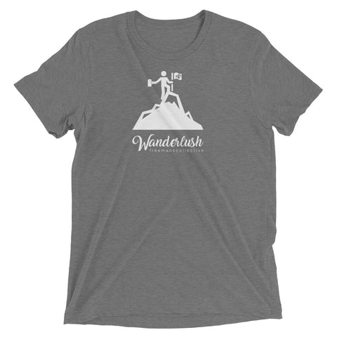Wanderlush Tri-Blend Mountain Tee