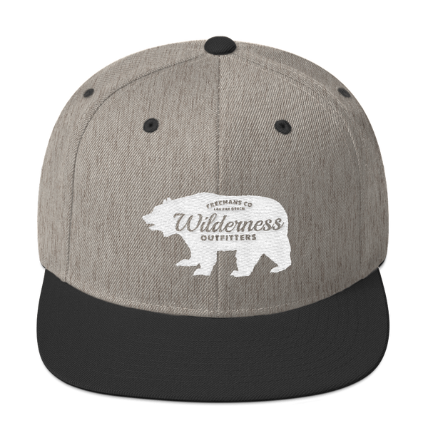 Grizzly Bear Snapback Hat
