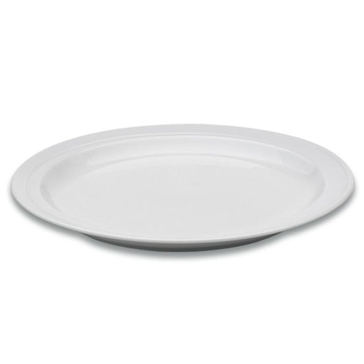 "Eclipse 10.25"" Porcelain Round Plate"