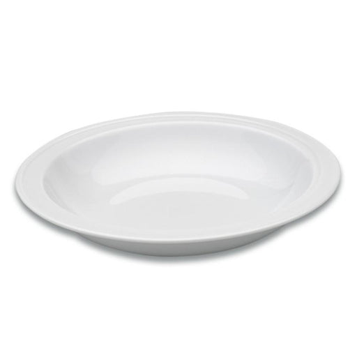 "Eclipse 8.5"" Porcelain Round Plate"