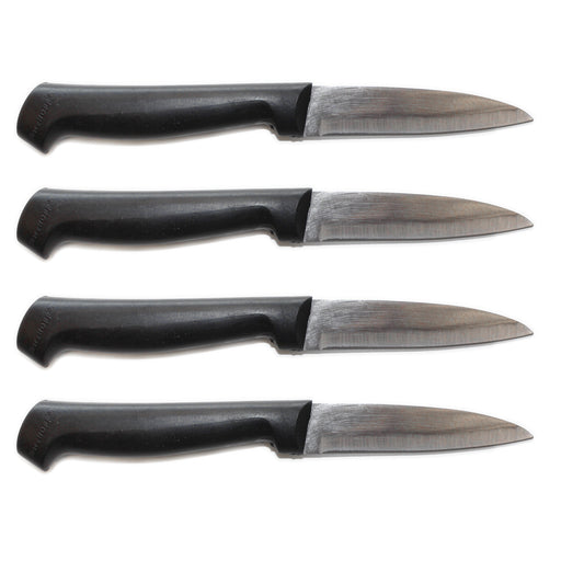 "Geminis 4"" Stainless Steel Paring Knife, Set of 4"
