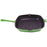 "Neo 11"" Cast Iron Square Grill Pan, Green"