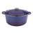 Neo 5Qt Cast Iron Oval Covered Casserole, Purple