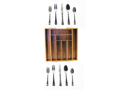 BergHOFF Everyday Cutlery set with Caddy Service for 8 40pc